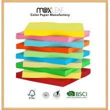 Copie colorée Papier Impression Papier couleur avec pulpe de bois