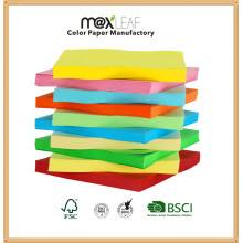 Colorful Copy Paper Printing Color Paper with Wood Pulp