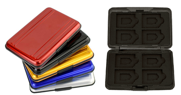 DETAIL memory card case
