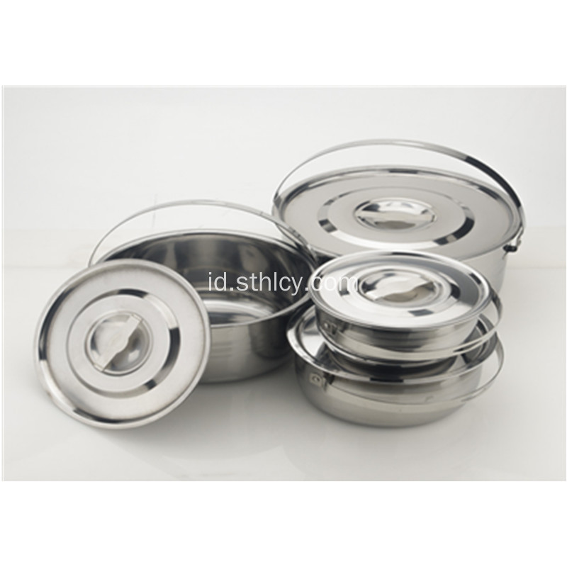 Set Peralatan Masak Stainless Steel Multi Layer Ganda