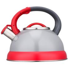 Bouilloire à sifflet en acier inoxydable de 3,0 L