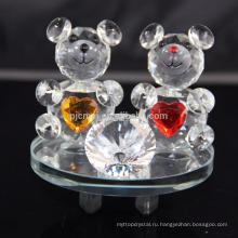 Элегантный кристалл животных кристалл плюшевый мишка