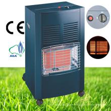 Schwarzer Indoor Portable Ceramic Gas Heater