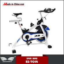 Bicicleta de exercício giratória silenciosa