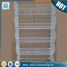 Alibaba China 304 stainless steel/iron storage rack baskets