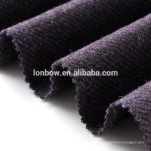Britischer Stil lila 100% Wolle Twill Tweed für die Kappe
