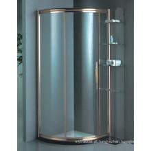 Novo projeto temperado vidro Coner simples chuveiro quarto (H015C)
