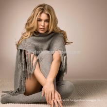 Fashion cashmere blend woman knee high sock knitted knee high socks