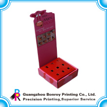 hot-sale colorful printing display folding custom paper box for promotion