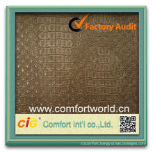 Wholesale High Quality OEM Ningbo Manufacturer Soft Faux Leather Fabric For Wall