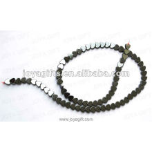 """6MM Loose coração magnético Hematite Beads 16 """""""