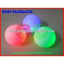 Красочный светодиодные мячи для гольфа, горячая распродажа 2017 для ночного обучения