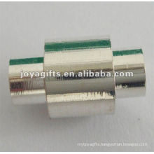 magnetic clasps rhodium plated