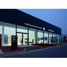 Modern Steel Structure Glass Building for 4s Car Showroom