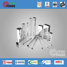 Decorative Square Stainless Steel Pipe (201/304)