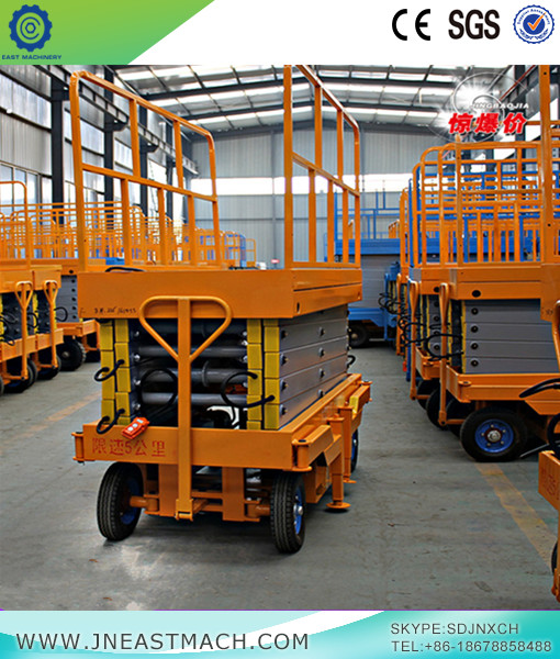 Shear Fork Lifter Lifting Platform Mobile Lift