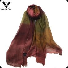 2016 Elegante mudança retro da cor 100% Modal Tie Dyed lenço