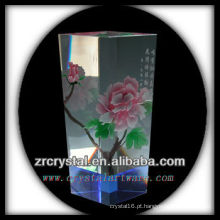 Vaso de cristal agradável L015