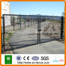 PVC Painted Iron Gate Design, House Gate Designs