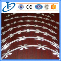 Hot dipped Straight Line Razor Wire Fence
