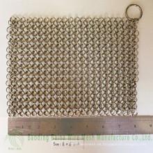 2015 Alibaba de China de alta calidad de suministro de hierro fundido Pan Cleaner de acero 316 correo de la cadena depurador