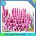 Boquillas de cerámica de soldadura TIG para antorchas de soldadura tig