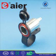 Daier Panel Mount 12V Encendedor de cigarrillos de coche con tapa