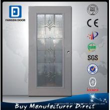 Puerta de cristal interna de Fangda, usada como puerta del tocador