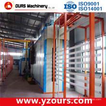 Overhead Chain Conveyor Powder Coating Line for Aluminum Profile