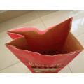 Bolsa de papel Kraft de madera de carbón