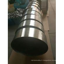 Monolithe métallique pour groupes électrogènes à moteur diesel