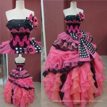 Real Made Ball Gown Girls Quinceanera Dresses