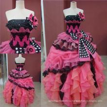 Настоящий Made Бальное Платье Quinceanera Платья Девушки