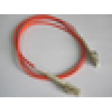Ponte de cabo do cabo do cabo do remendo da fibra óptica LC-LC boot curto do pontapé multimodo 50/125 2mm Frete Grátis