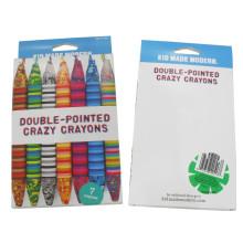 7 piezas artista profesional dibujo crayón de cera de color mezclado