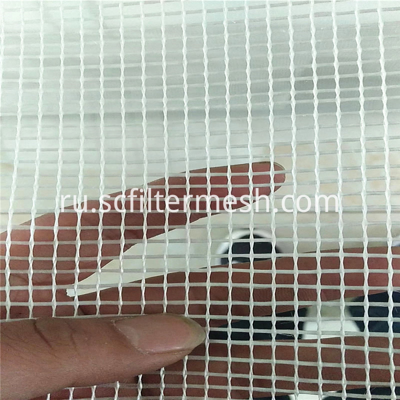 White Fiber Glass Mesh