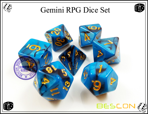 Gemini RPG Dice Set-2