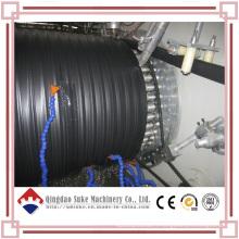 Ligne de machine d'extrusion de tuyau d'enroulement creux de grand diamètre de HDPE