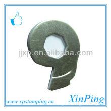 China billig benutzerdefinierte Stanzteile Eisen Teile