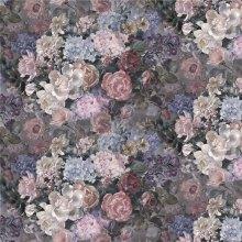 2017 Custom Digital Printed Silk Fabric (XF-0104)