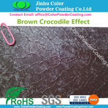RAL8017 Brown Crocodile Powder Coatings