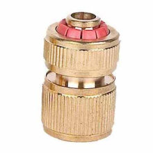 """1/2"""" brass water click-on Hose Connector"""