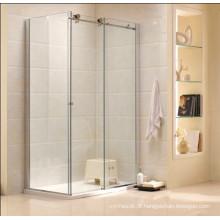Australian Standard Modern Design Banheiro De Vidro Temperado Cabine De Chuveiro (R3)