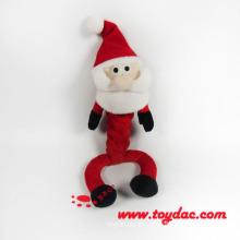 Plüsch Weihnachten Pet Toy Santa