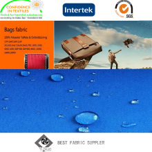 Jacquard-Polyurethan-beschichtetes 100% Polyester 400d Kation-Gewebe mit gedruckt