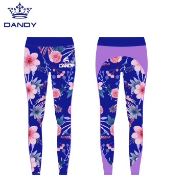 High Waist Yoga Hose in voller Länge Yoga Legging