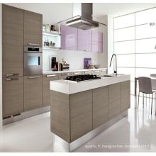 Cabinet de cuisine en bois massif modulaire en 2016 moderne