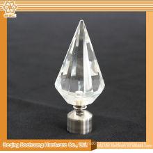 8/10/13/16/19/22/25/28mm Crystal Glass Decorative Window Diamond Curtain Finials