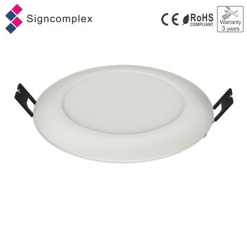 IP64 runde Innen-LED-Leuchten LED-dünne Platten, Edge-Lit Emitting LED-Deckenleuchte