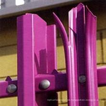 HDG Winkel Stahl Palisade Zaun für Sicherheit